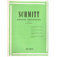 Schmitt Esercizi preparatori Op. 16 per pianoforte - Ricordi