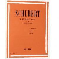 Schubert 4 improvvisi Op. 90 per pianoforte (Seak) - Ricordi