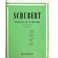 Schubert Sinfonia in Si minore per pianoforte (Tagliapietra) - Ricordi