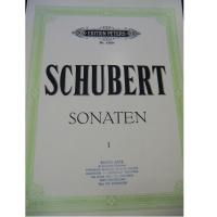 Schubert Sonaten I - Edition Peters