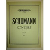 Schumann Konzert A moll A minor La mineur Opus 54 (Sauer) - Edition Peters