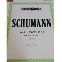Schumann Waldszenen Forest Scenes Opus 82 Klavier/Piano - Edition Peters