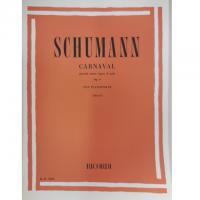 Schumann Carnaval piccole scene sopra 4 note Op. 9 per pianoforte (Moroni) - Ricordi