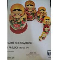 Sciostakovic 4 Preludi (dall' op. 34) per pianoforte - Ricordi