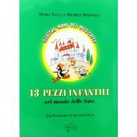 Vacca Quattro mani del Musigatto 13 Pezzi infantili nel mondo delle fiabe Per pianoforte a quattro mani - Carisch