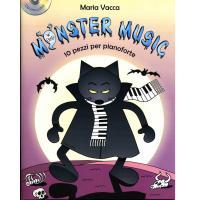 Vacca Monster Music 10 Pezzi per pianoforte - Carisch