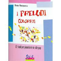 Vinciguerra I preludi colorati 12 Studi per pianoforte in stile Pop - Curci Young