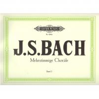 Bach Mehrstimmige Chorale Band I - Edition Peters