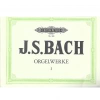 Bach Orgelwerke I - Edition Peters