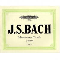 Bach Mehrstimmige Chorale Band II (Smend) - Edition Peters