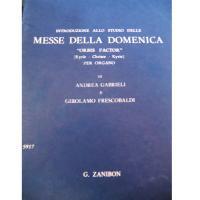 Voltolina Introduzione allo studio delle MESSE DELLA DOMENICA