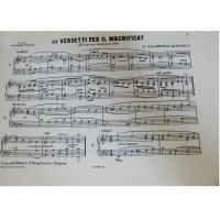 10 Versetti per il magnificat (8° tono con dominante Sib) Calamosca (op.15. Fasc.I)
