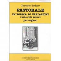 Todero Pastorale in forma di variazioni (nello stile antico) per organo - Pizzicato edizioni musicali