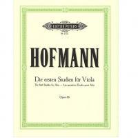 Hofmann Die ersten Studien fur Viola The first Studies for Alto Opus 86 - Edition Peters