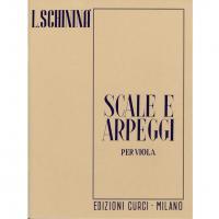 Schininà Scale e Arpeggi per Viola - Edizioni Curci Milano