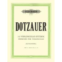 Dotzauer 113 Exercises for violoncello (Klingenberg) BOOK II (No. 35-62) - Edition Peters