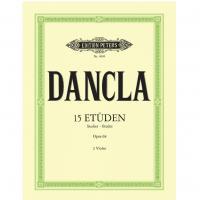 Dancla 15 Etuden Studies Etudes Opus 68 2 Violen - Edition Peters