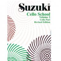 Suzuki Cello School Volume 2 Cello Part Revised Edition - Volontè & Co
