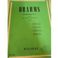 Brahms Sonata N.1 Op.78 per violino e pianoforte (Corti) - Ricordi