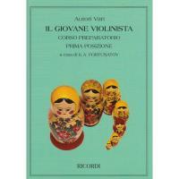 Il Giovane Violinista Corso preparatorio prima posizione a cura di K.A. FORTUNATOV - Ricordi
