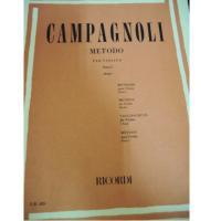 Campagnoli METODO per violino Parte I (Polo) - Ricordi