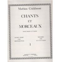 Crickboom Chants et morceaux pour violon et piano I - Schott Freres