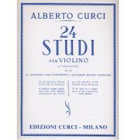 Curci 24 Studi per Violino (I. posizione) Op. 23 - Edizioni Curci Milano