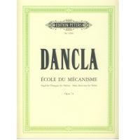 Dancla Ecole du mécanisme Daily exercises for Violin Opus 74 - Edition Peters