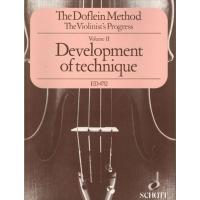 The Doflein Method Volume II Development of technique - Schott