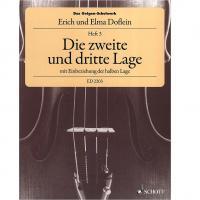 Doflein Heft 3 Die zweite und dritte Lage ED2203 - Schott