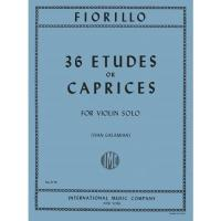 Fiorillo 36 Etudes or Caprices for Violin Solo (Ivan Galamian) - International Music Company