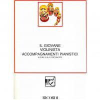 Il giovane violinista accompagnamenti pianistici K.A. Fortunatov - Ricordi