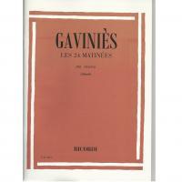 Gaviniès Les 24 Matinées Per Violino (Abbado) - Ricordi