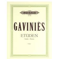 Gaviniès Etuden Studies Etudes Violine - Edition Peters