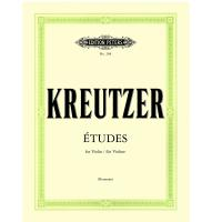 Kreutzer études for Violin / fur Violine (Hermann) - Edition Peters