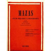Mazas Studi melodici e progressivi Op. 36 Per Violino Volume primo: Studi speciali (Zanettovich) - Ricordi