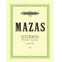 Mazas Etuden Brillant Studies Etudes brillantes Opus 36 Heft II Violine - Edition Peters