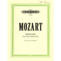 Mozart Eine kleine Nachtmusik Serenade Sérénade 2 Violinen, Viola, Violoncello - Edition Peters
