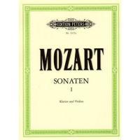 Mozart SONATEN I Klavier und Violine - Edition Peters