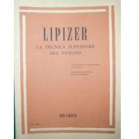 Lipizer La Tecnica superiore del violino - Ricordi
