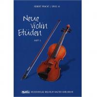 Pratch Opus 12 Neue Violin Etuden HEFT 1 - Musikverlag Wilhem Halter Karlsruhe