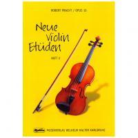 Pratch Opus 15 Neue Violin Etuden HEFT 2 - Musikverlag Wilhem Halter Karlsruhe