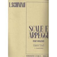 Schininà Scale e Arpeggi per Violino I Fascicolo - Edizioni Curci Milano