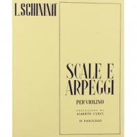 Schininà Scale e Arpeggi per Violino II Fascicolo - Edizioni Curci Milano
