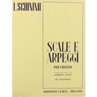 Schininà Scale e Arpeggi per Violino III Fascicolo - Edizioni Curci Milano