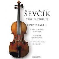 Sevcik Violin Studies Opus 2 Part 1 School of bowing - Bosworth