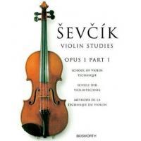 Sevcik Violin Studies Opus 1 Part 1 School of bowing - Bosworth