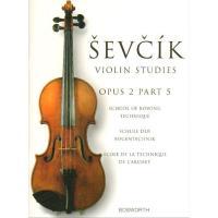 Sevcik Violin Studies Opus 2 Part 5 School of bowing - Bosworth