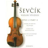 Sevcik Violin Studies Opus 2 Part 2 School of bowing - Bosworth