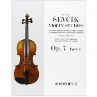 Sevcik Violin Studies Op. 7 Part 1 - Bosworth